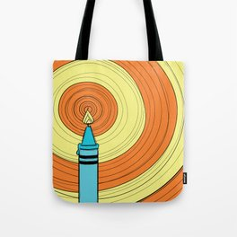 Melting Crayons Tote Bag
