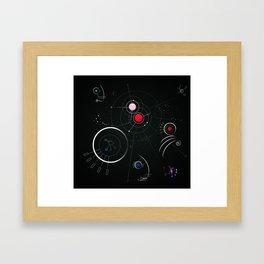 Aldebaran - Astro Dimension Star System Framed Art Print