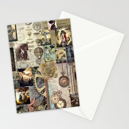 Steam Punk Stationery Cards