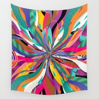 2001 Wall Tapestries featuring Pop Tunnel by Danny Ivan