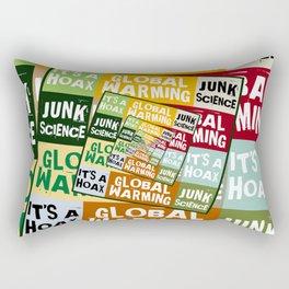 Global Warming Fraud Rectangular Pillow