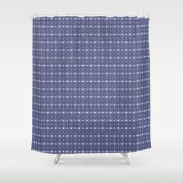blue dandy chinoisse Shower Curtain