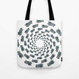 Dragon Head   (A7 B0075) Tote Bag