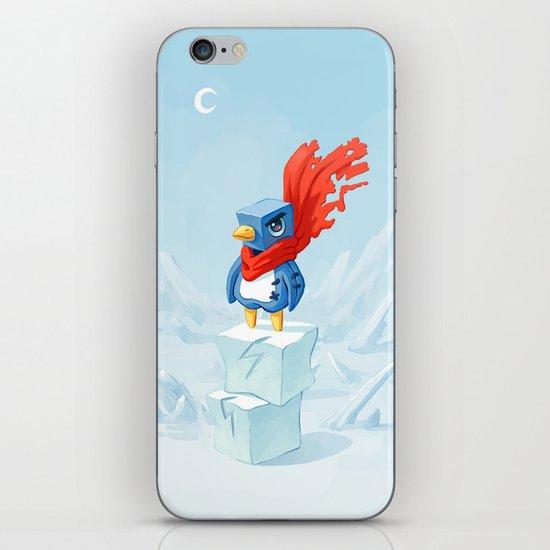 Super Penguin iPhone & iPod Skin