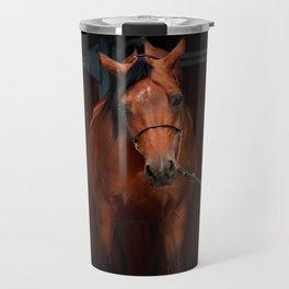 horse collection. arabian bay Travel Mug