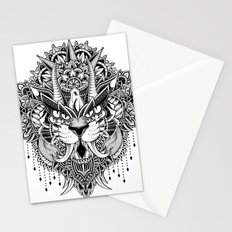 Tiger Mandala Stationery Cards