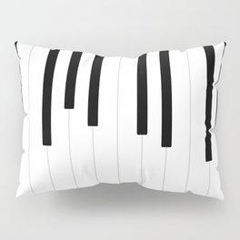 Piano keys, music background #society6 #decor #buyart #artprint Pillow Sham