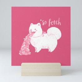 Fido, That's So Fetch! Mini Art Print