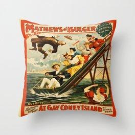 Gay Coney 2 Throw Pillow