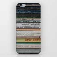 marx iPhone & iPod Skins featuring Marx Lenin Engels Revolucion Socialismo by Sanchez Grande