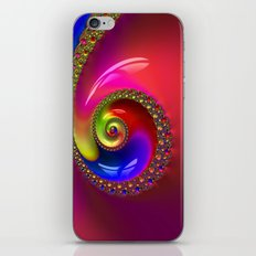 Fractal Shell Colorful iPhone & iPod Skin