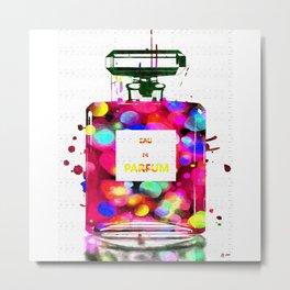 Eau de Parfum Bubbles Metal Print