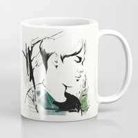 exo Mugs featuring Love Me Right - Chen by emametlo
