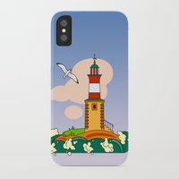 lighthouse iPhone & iPod Cases featuring Lighthouse by LaDa