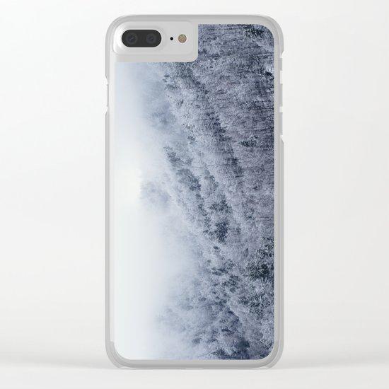 Winter Cometh Clear iPhone Case