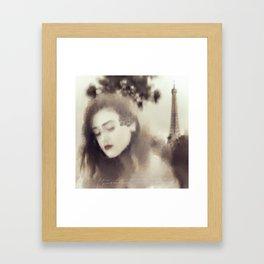 Petals of the Heart Framed Art Print
