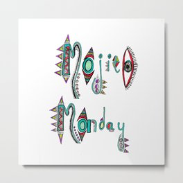 Mojito Monday Metal Print