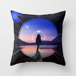 Serinity Throw Pillow