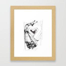 Dancing Mrs Fox Framed Art Print