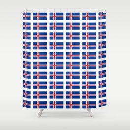 Flag of Iceland -Icelandic,island,Icelanders,Islandia,Reykjavík Shower Curtain