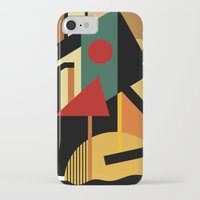 kandinsky iPhone & iPod Cases featuring THE GEOMETRIST by THE USUAL DESIGNERS
