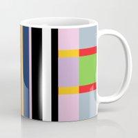 snatch Mugs featuring Stripe 1 by ABBY SNATCH
