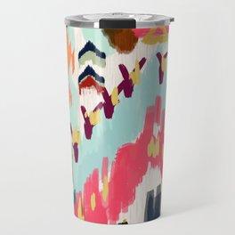 Bohemian Tribal Painting Travel Mug