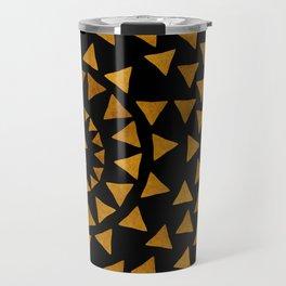 Dark Sun - Gold and Black Travel Mug
