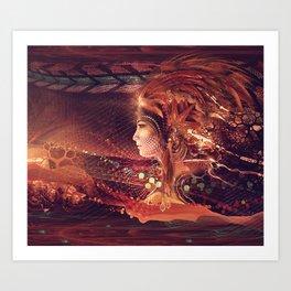 Shadow of a Thousand Lives - Visionary - Manafold Art Art Print