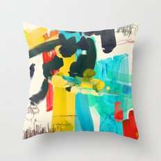 Lonely Water Throw Pillow