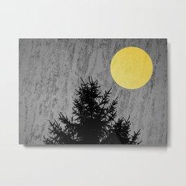 Dark pine tree Metal Print