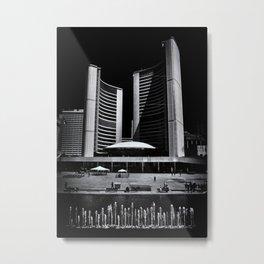 Toronto City Hall No 6 Metal Print