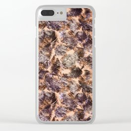 tropical chop (variant) Clear iPhone Case