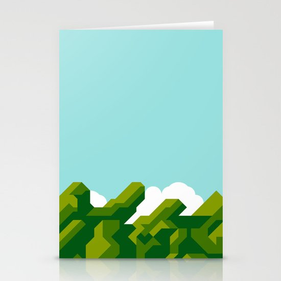 Super Mario World Stationery Cards