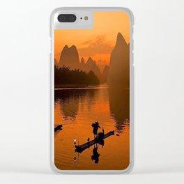 Li River in Guilin China Clear iPhone Case