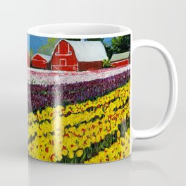 Tulip Fields Coffee Mug