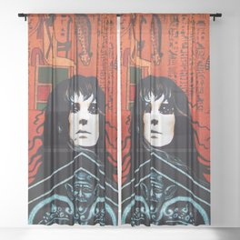 Laurie Cabot Egyptian Mystic Sheer Curtain