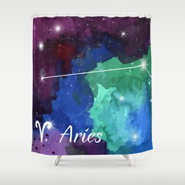 Aries Shower Curtain