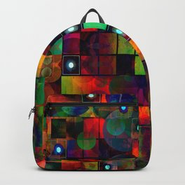 Urban Perceptions, Abstract Shapes Backpack