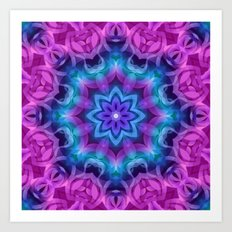Floral Abstract G269 Art Print