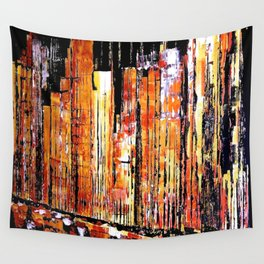 Golden town Wall Tapestry