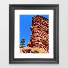 Redrocks Framed Art Print