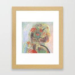 Turning Head Framed Art Print