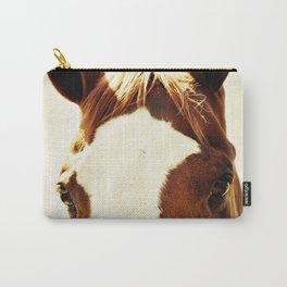 Quarter Horse Portrait Carry-All Pouch