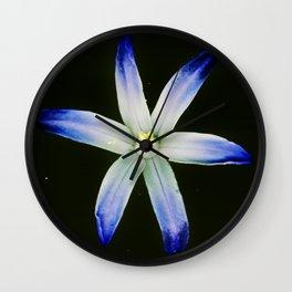 Glorious blue Wall Clock