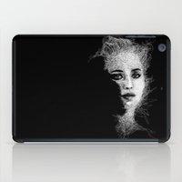 jennifer lawrence iPad Cases featuring JENNIFER by naidl