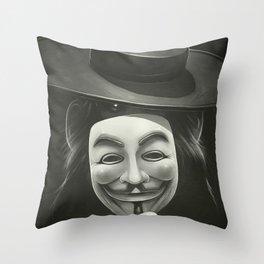 Anonymous II Throw Pillow