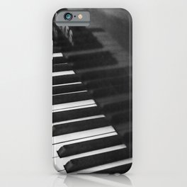 Old grand piano iPhone Case