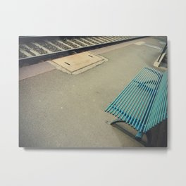 Futility: the quality of having no useful result. Metal Print