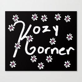 Kozy Korner Canvas Print
